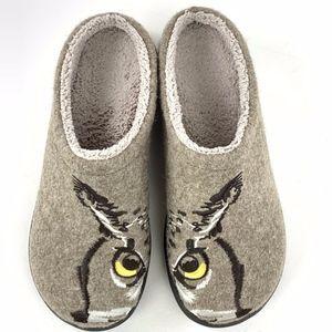 L L Bean Daybreak Scuffs Owl Slippers